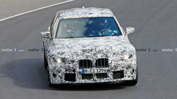 2021 BMW M3 Spied Running The