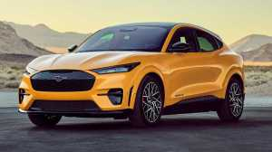 Banks with an order for the Ford Mustang Mach-E GT open on April 26: Report