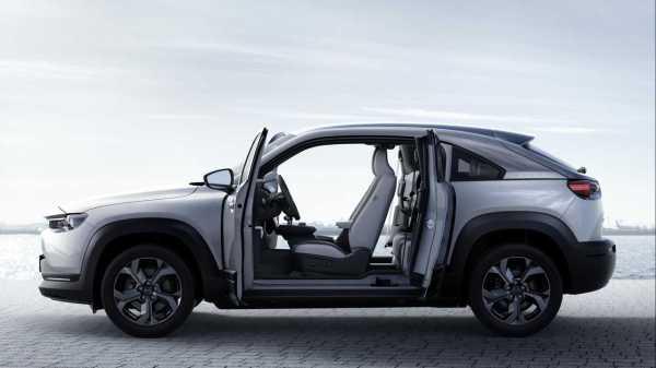 2020 Mazda MX-30 Debuts As A Sporty EV Crossover In Tokyo