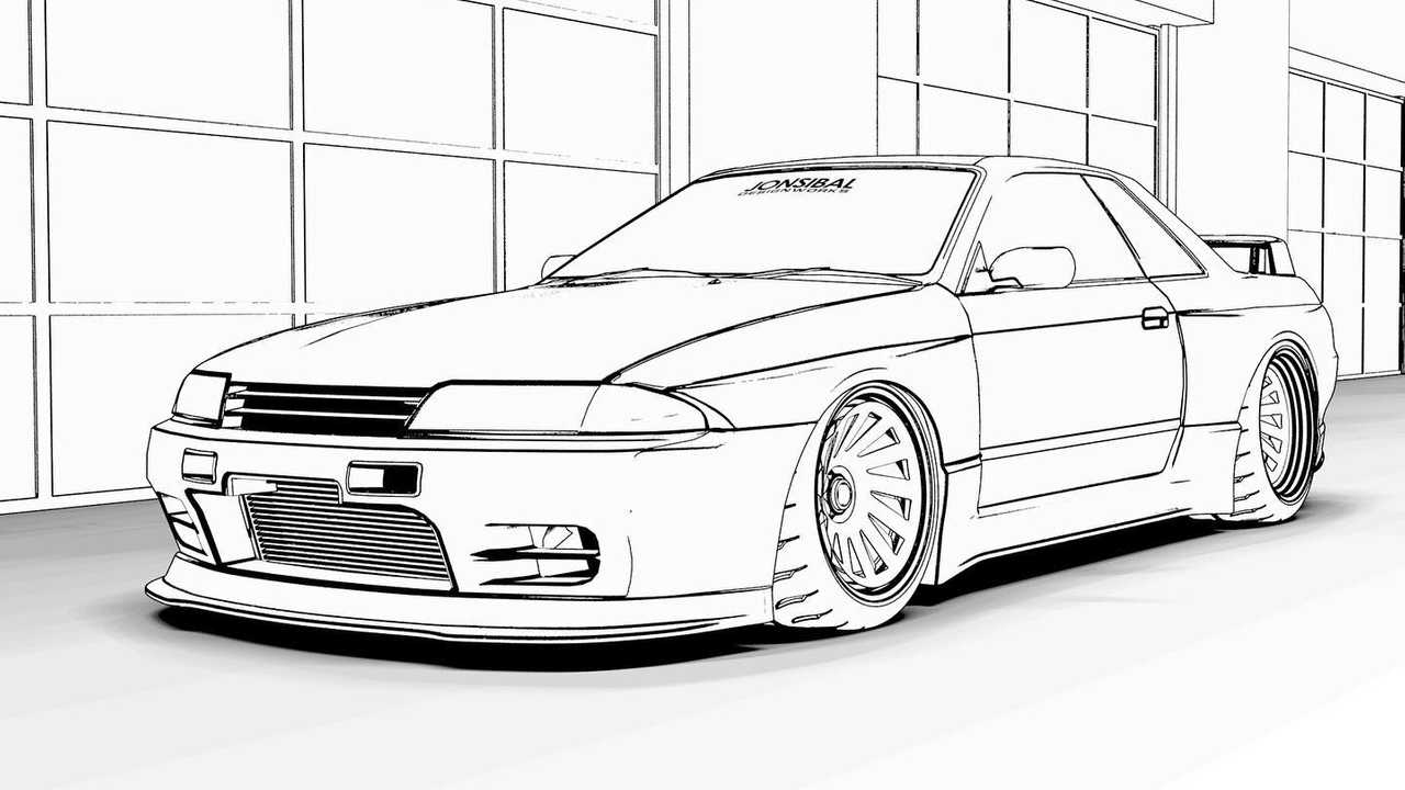 Here Are Car Themed Coloring Pages To Keep You And The Kids Busy