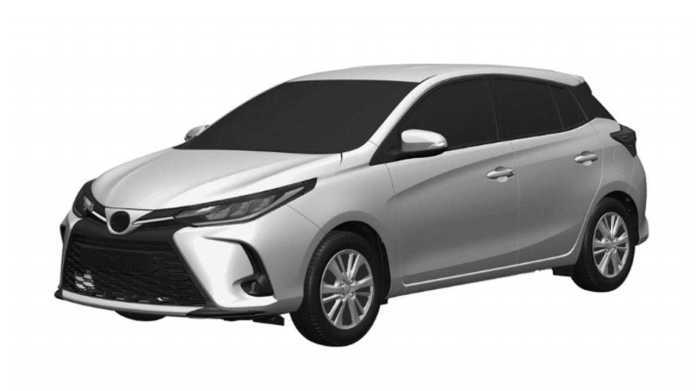 Toyota Yaris restyled - Registration in Argentina