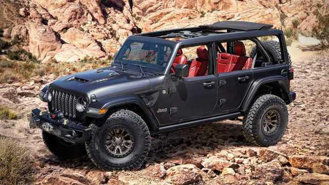 V8-Powered Jeep Wrangler Rubicon 392 Concept Revealed On Bronco's ...