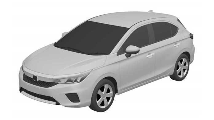 Honda City Hatch - INPI registration