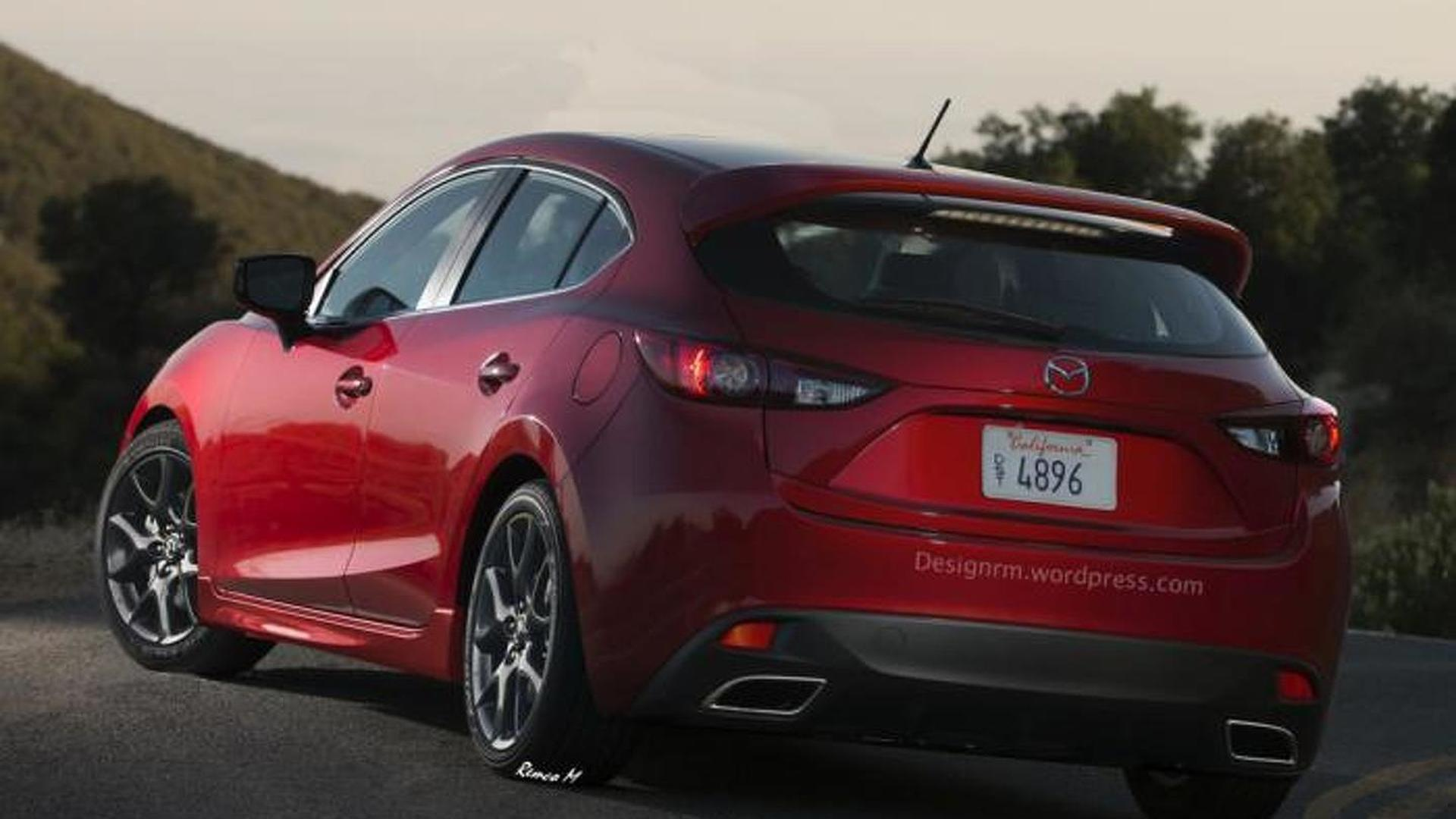 mazda3 mps coming in 2016 with 300 bhp
