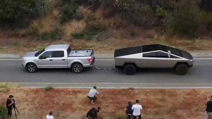 Tug-Of-War: This Video Shows Tesla Cybertruck Beating The Ford F-150
