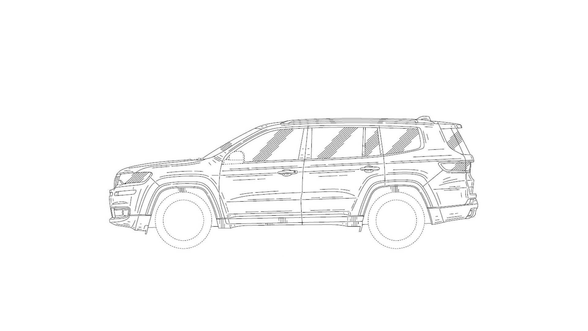 Jeep Patent Drawings Show 7 Seat Suv Could It Be The