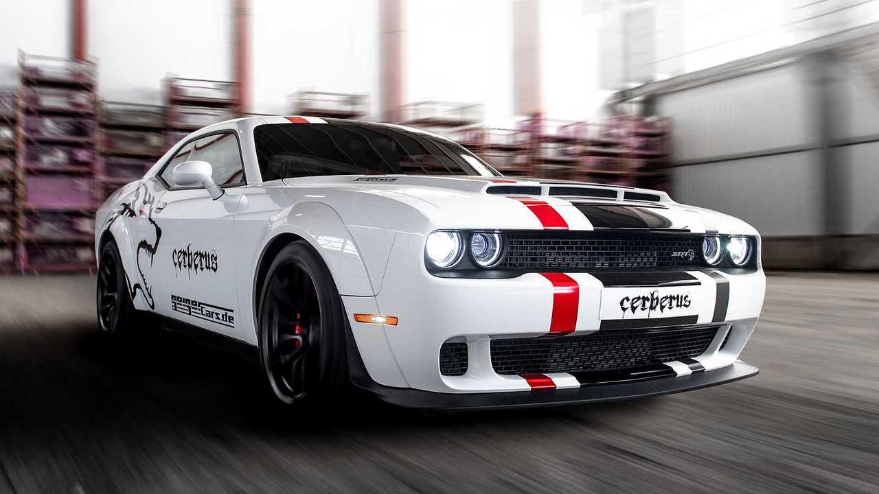 Dodge Challenger Srt Hellcat Cerberus Von Geiger