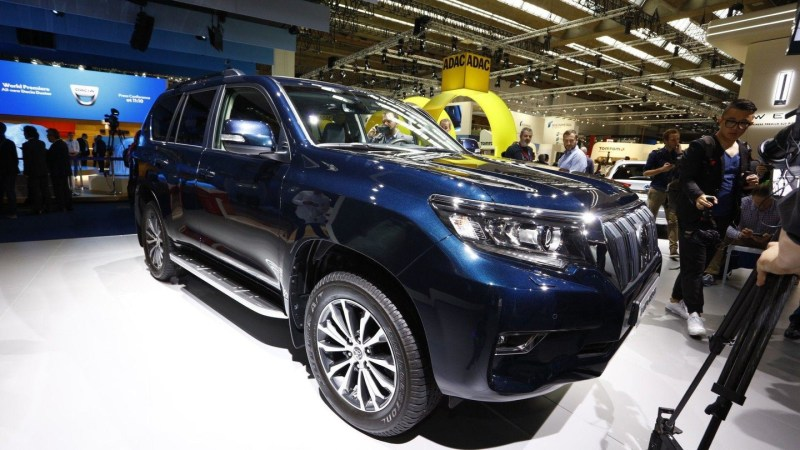 2018 Toyota Land Cruiser live in Frankfurt