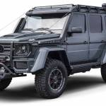 Brabus Adventure 4x4 Proves The Old Mercedes G Class Is Still Mean