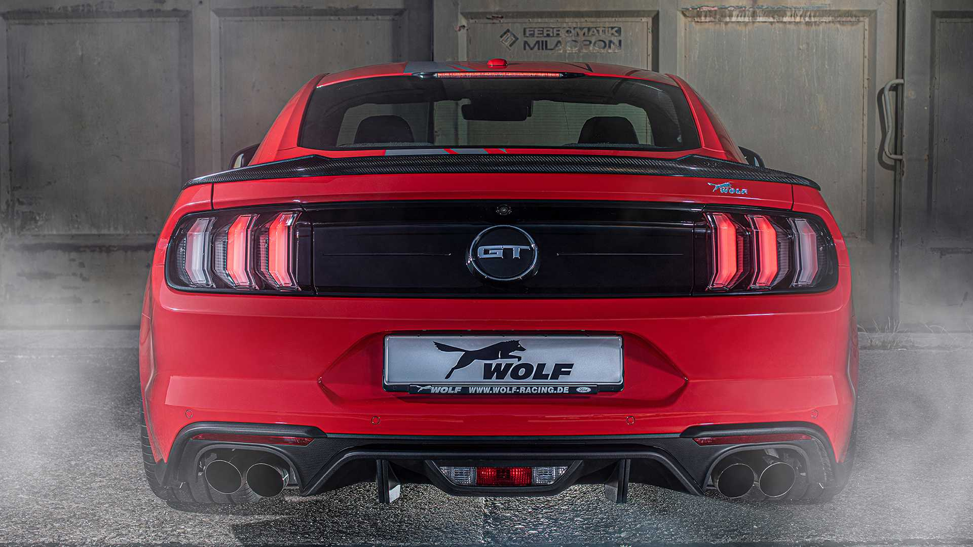 german tuned ford mustang gt one of 7