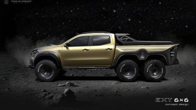 Image result for CARLEX MERCEDES-BENZ X-CLASS 6×6 TRUCK