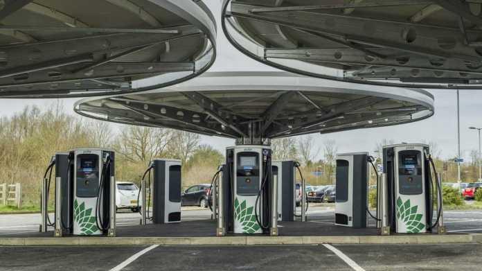 BP Chargemaster charging station