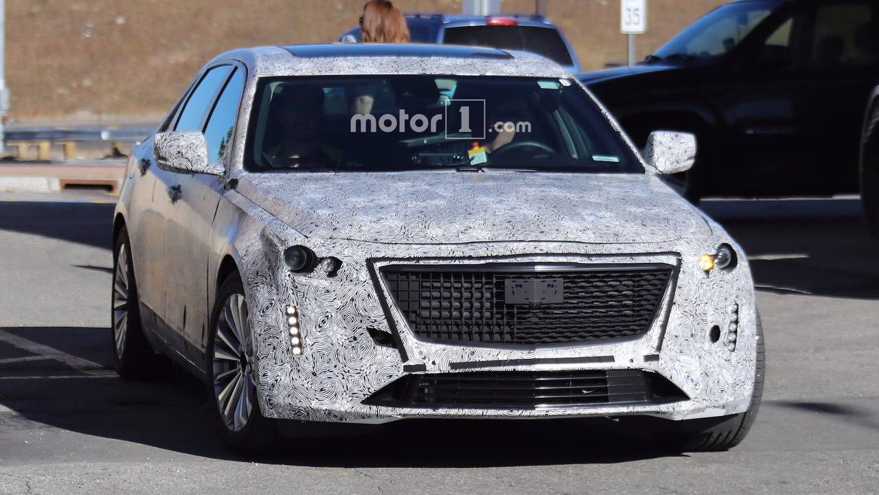 2019 Cadillac CT6 Spy Shots Photos