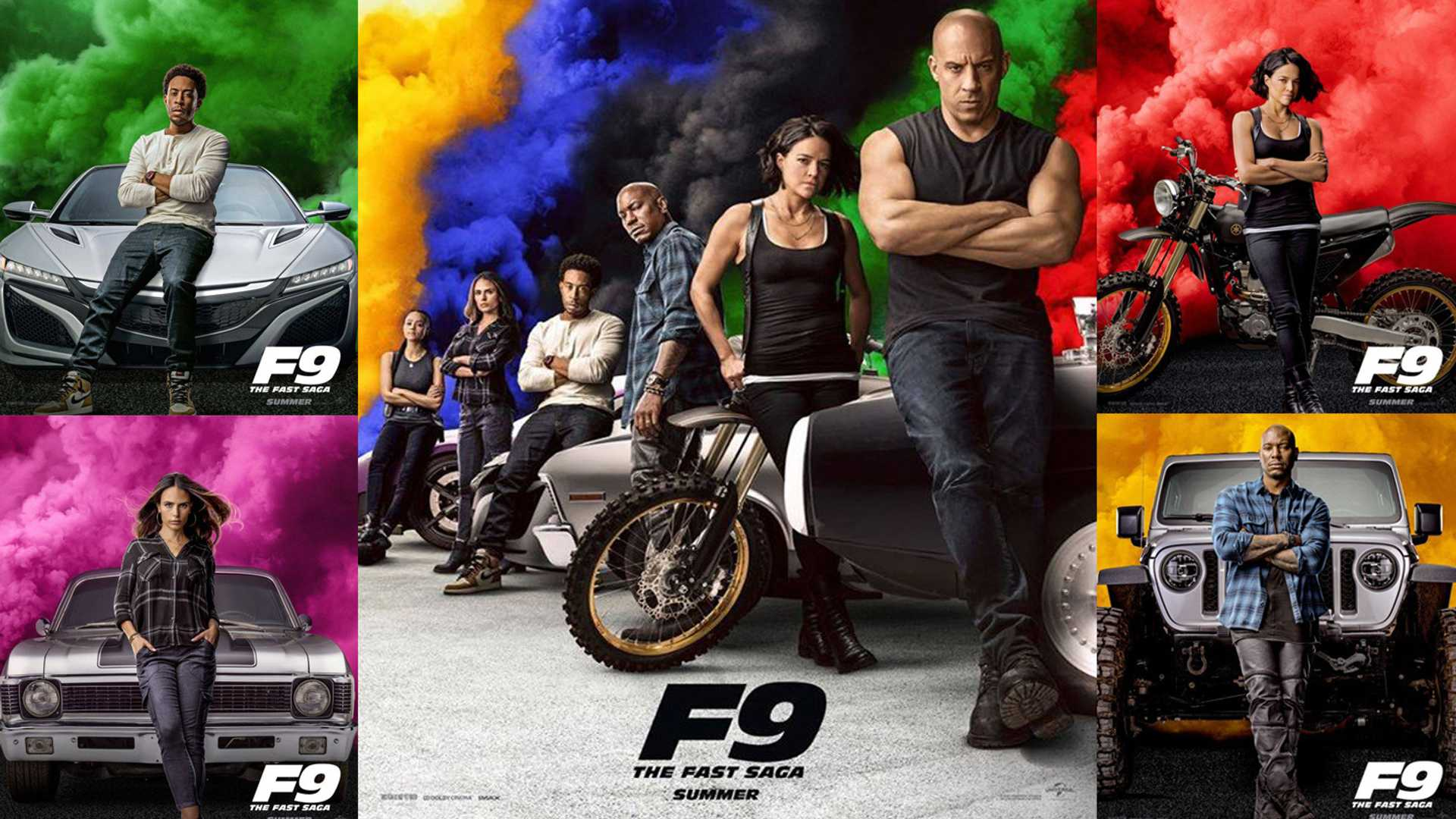 f9 the fast saga trailer movie posters