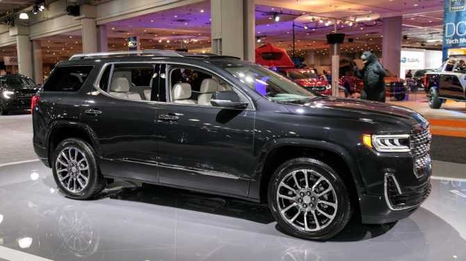 2020 GMC Acadia Live Photos