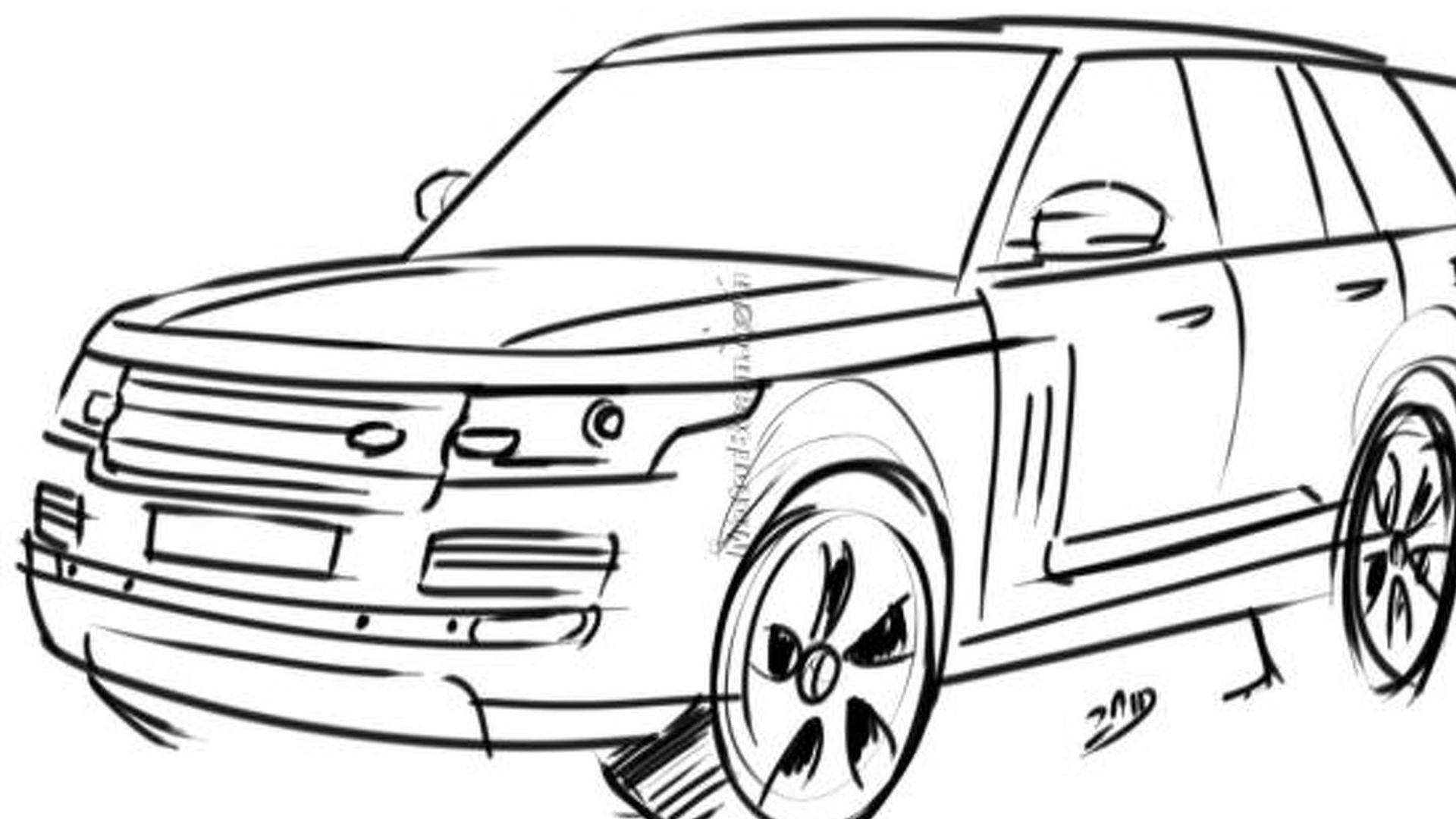 New Range Rover Speculatively Rendered