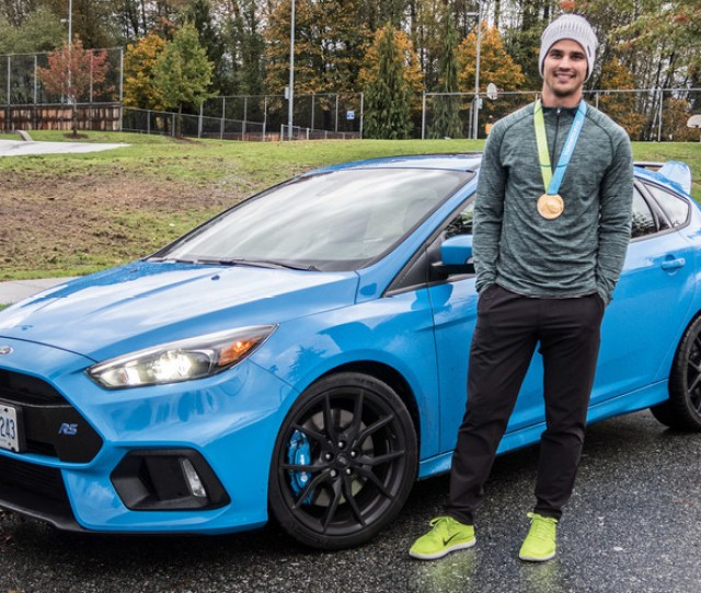 Bmx Champ Tory Nyhaug Meets The  Ford Focus Rs