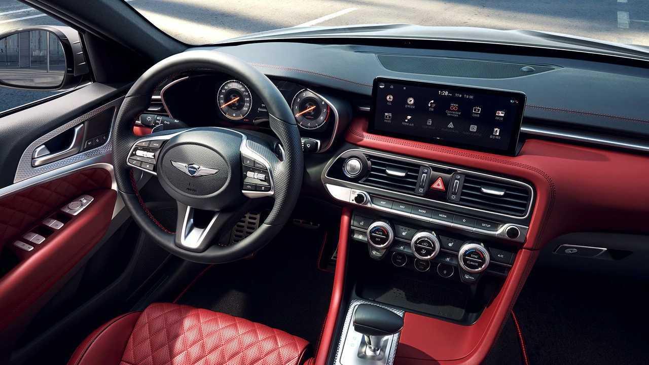 2022 Genesis G70 Sport Refresh Interior