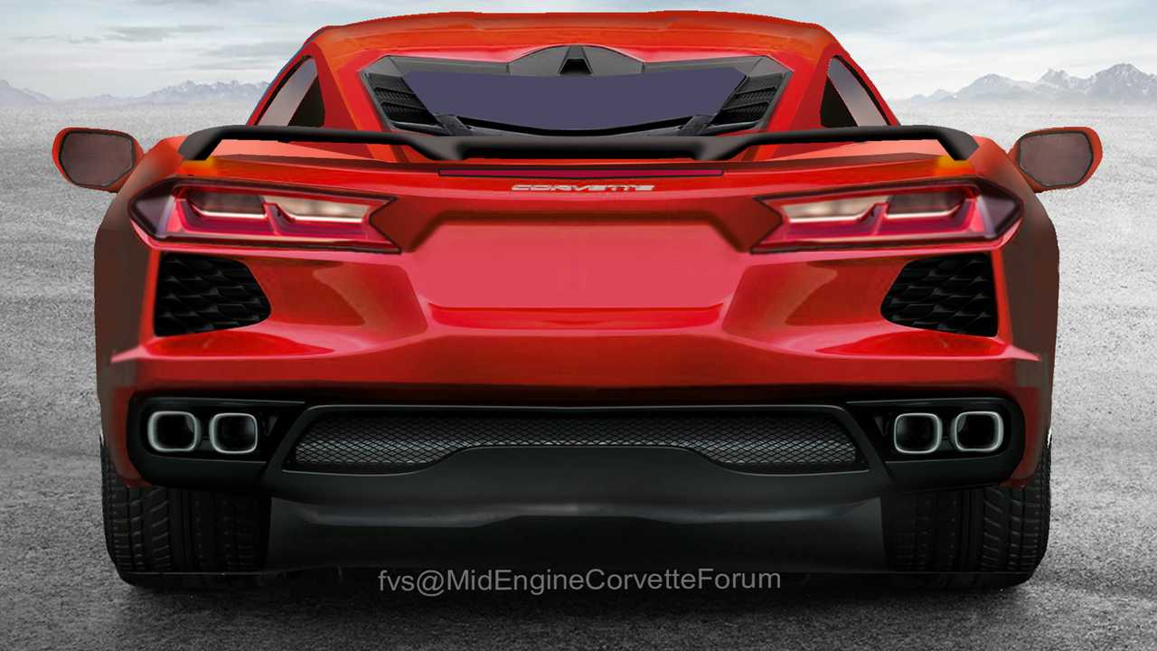 Detailed C8 Corvette Renderings Imagine The Supercar S