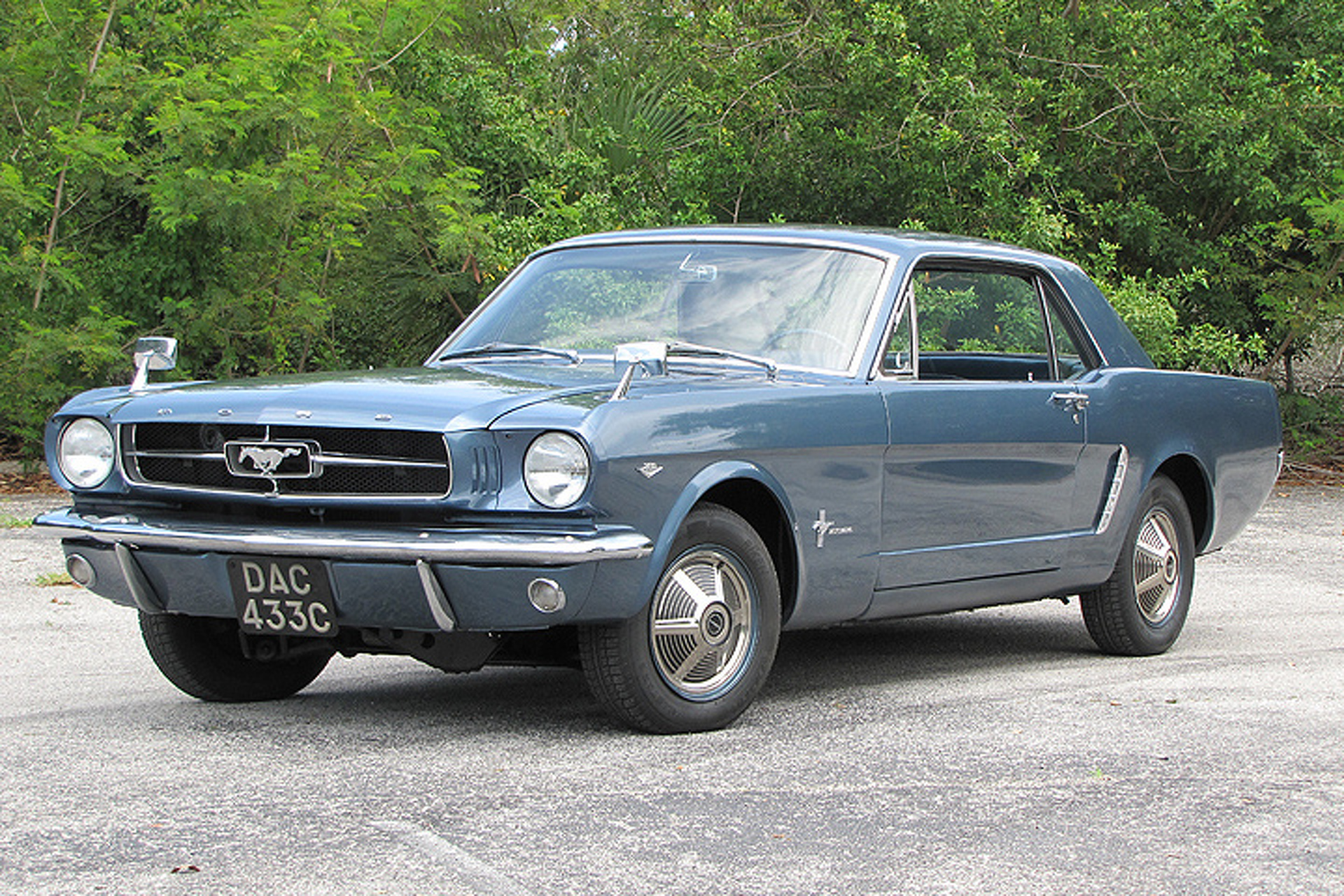 Driving the Fantastic  Four Wheel Drive 1965 Ford Mustang