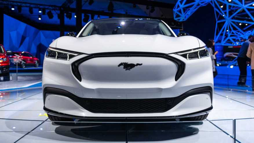 2021 Mustang Mach-E Image en direct