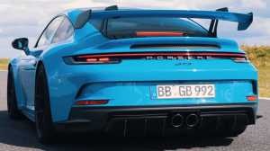The 2022 Porsche 911 GT3 is faster than the company claims