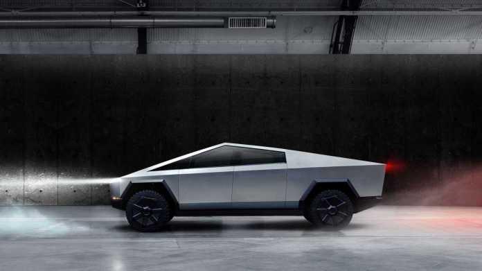 Tesla Cybertruck Official Image