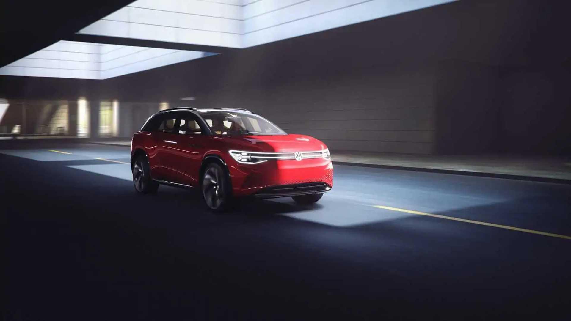 Volkswagen ID Roomzz 2021