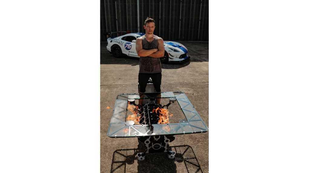 Viper V10 Fire Coffee Table