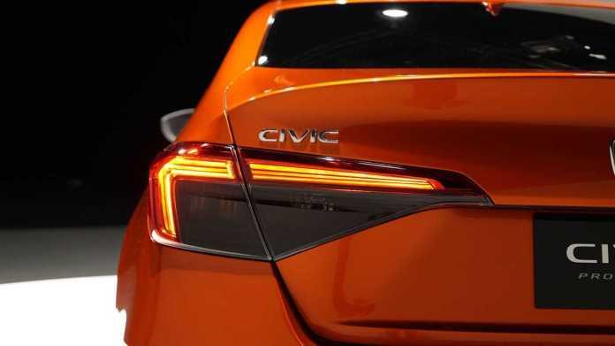 Prototype Honda Civic 2022