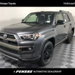 New 2021 Toyota 4runner Nightshade 4wd For Sale In Cordova Tennessee M5870127 Penskecars Com