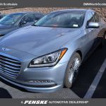 2016 Used Hyundai Genesis 4dr Sedan V6 3 8l Rwd At Bugatti Scottsdale Serving Phoenix Az Iid 20457143