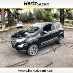 2018 Used Ford Ecosport Titanium 4wd At Hertz Car Sales Of Bend Or Iid 20069663