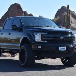 2018 Used Ford F 150 Lifted 2018 Ford F150 Supercrew Lariat Fx4 Eco Boost At Truckmax Serving Pheonix Az Iid 20346851