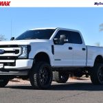 2020 Used Ford Super Duty F 250 Srw Lifted 2020 Ford F250 Fx4 6 7l Powerstroke Diesel Leather At Truckmax Serving Pheonix Az Iid 20463630