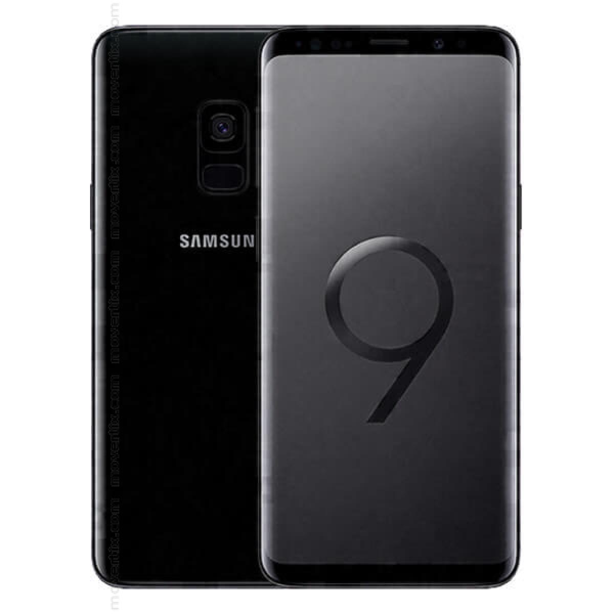 Samsung Galaxy S9 Dual Sim Midnight Black 64gb Sm G960f Ds 8801643148195 Movertix Mobile Phones Shop