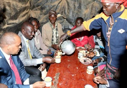 Image result for Dp Ruto eating in kibandas
