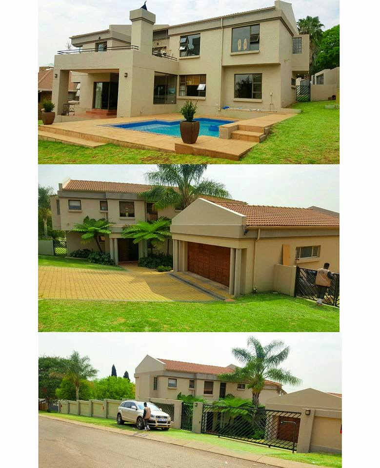 Diamond Platnumz and Zari Hassan's House In South Africa