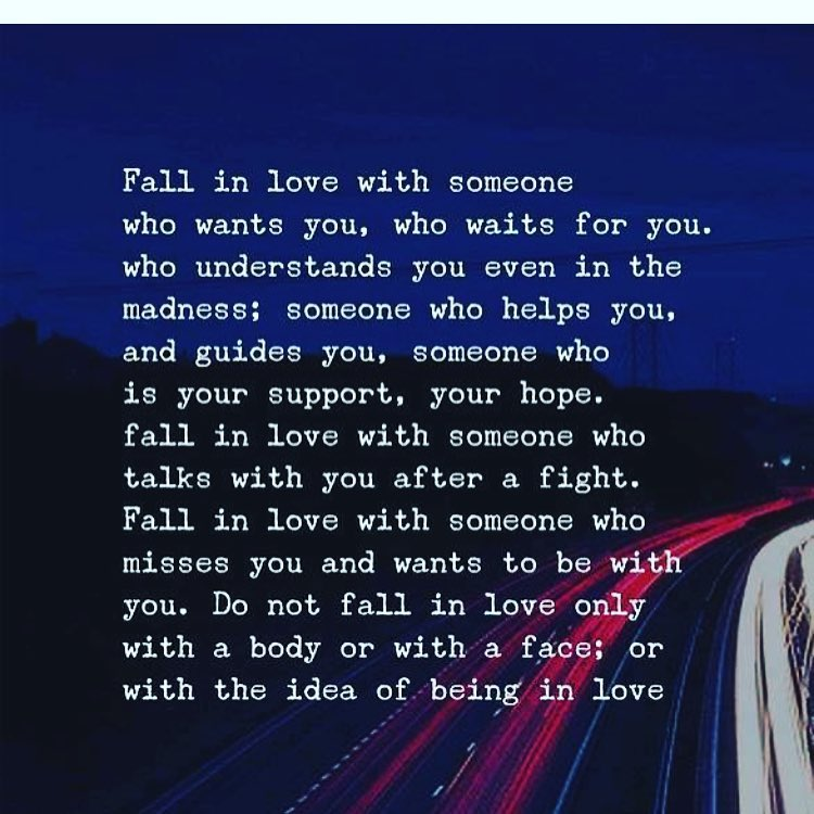 Love How Have You Fall Someone