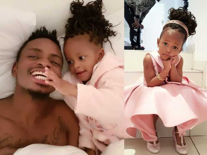 Amelenga! Diamond fails to attend daughter's birthday in South Africa