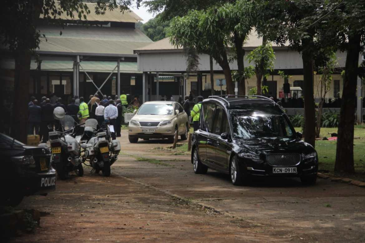 Bob Collymore's funeral