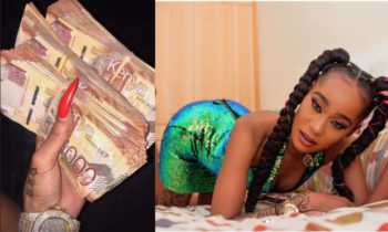 'You'll never hit it again!' Noti Flow tells ex-lovers as she flaunts 300k