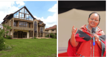 Photos of the posh mansion that Anne Waiguru faces eviction from