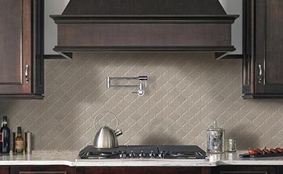 arabesque backsplash tiles