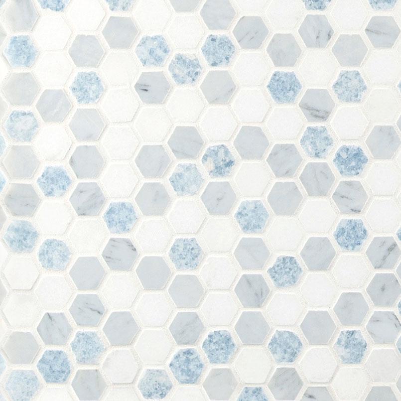 azula hex tile hexagon bathroom tile
