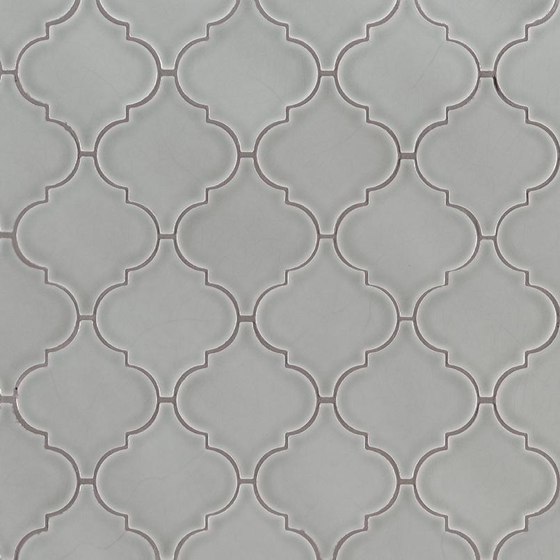 morning fog arabesque tile backsplash moroccan tile backsplash