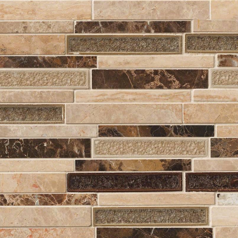 stonegate glass and stone backsplash tile