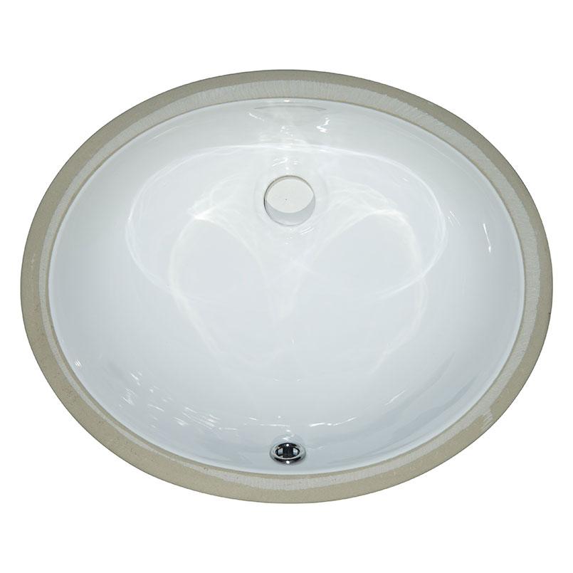 vanity white oval porcelain 1512
