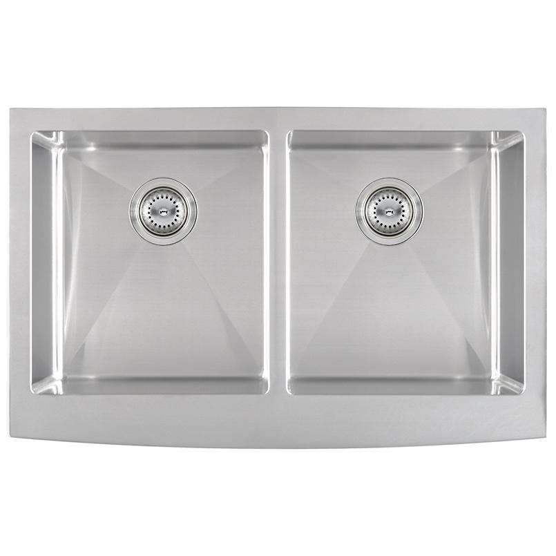 kitchen sinks double bowl farmhouse apron 50 50 3321