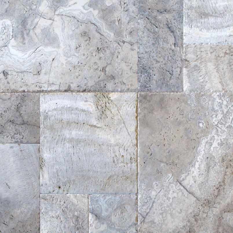 silver travertine travertine tile